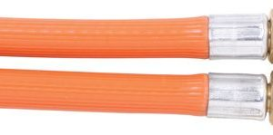"Bromic 6mm PVC Gas Hose 1/4"" BSP F x 1/4"" BSP F"