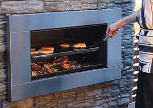Escea EW5000 Outdoor Wood Cooking Fireplace