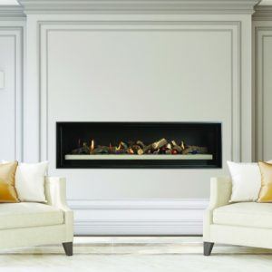 Cannon Latitude 1500 Powerflue Gas Fireplace