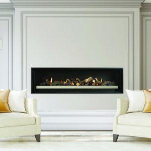 Cannon Latitude 1500 Powerflue Gas Fireplace