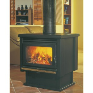 Jetmaster Kemlan Coupe Freestanding Double Sided Woodfire
